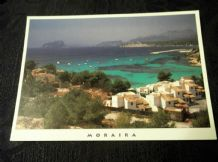 GLOSS PHOTO POSTCARD MORAIRA COSTA BLANCA TRIANGLE 213.1 DIEGO MOLLA